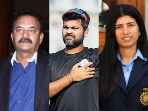 Madan Lal,RP Singh and Sulakshana Naik