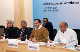 Indian National Commission meeting