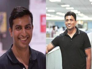 Gaurav Gupta and Byju Raveendran