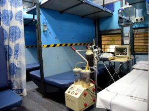 Hospital isolation coach