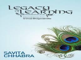 "Savita Chhabra writes her first book titled ""Legacy Of Learning"""