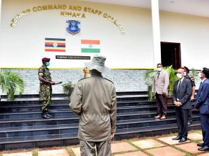 """India hands over war game center named as """"INDIA"""" to UPDF"""