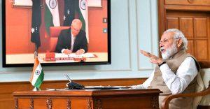 Modi-Morrison online summit