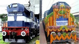 10 broad-gauge diesel locomotives