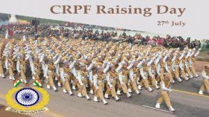 CRPF Raising Day