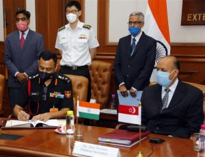14th India-Singapore Defence Policy Dialogue