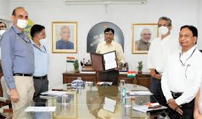 Ministry of Shipping signed MoU with MSDE for Development in Port and Maritime Sector