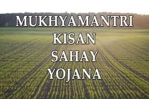 Mukhya Mantri Kisan Sahay Yojana