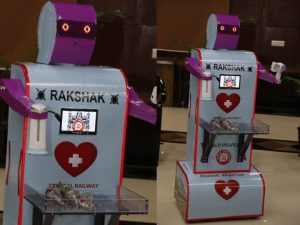 Robot 'Rakshak'