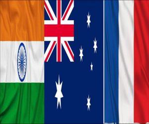 India, France, Australia