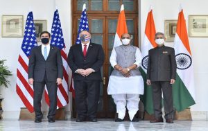 3rd India-US 2+2 Ministerial Dialogue