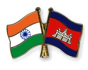 India and Cambodia