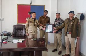 North Police Station in Kohima gets ISO certification